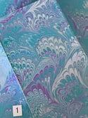 Teal Bouquet - Rectangular 4x6 Valet Tray