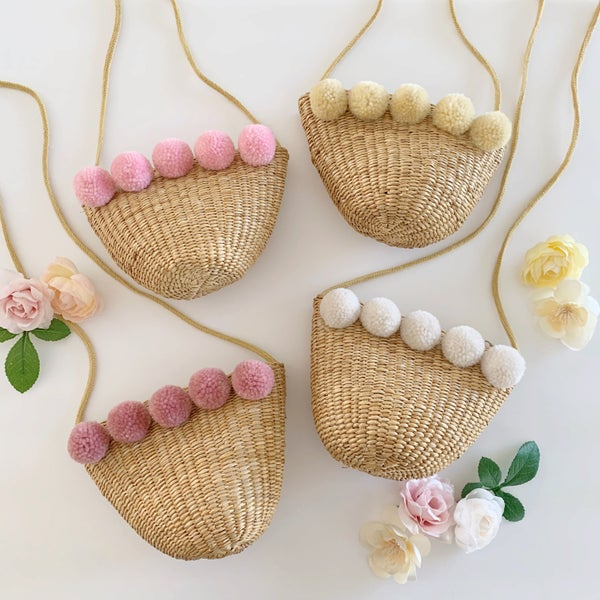 Image of Pom Straw Purse