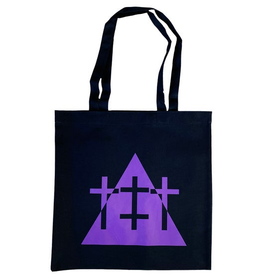 Image of DUALITY PURRP TOTE BAG