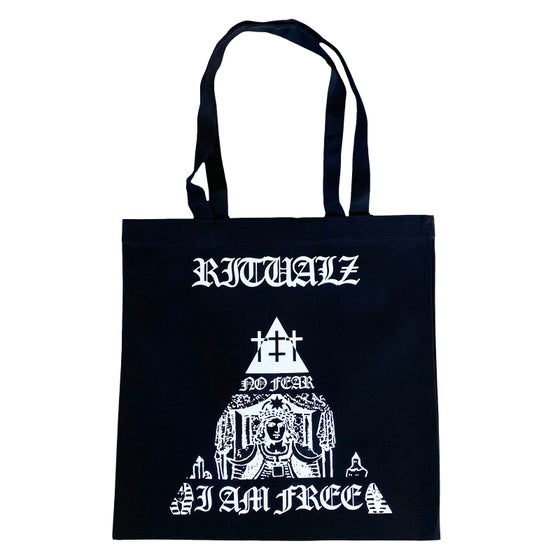 Image of NO FEAR/I AM FREE TOTE BAG