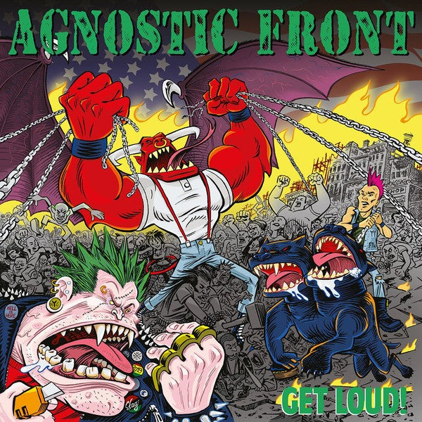 Image of Agnostic Front - Get Loud! LP