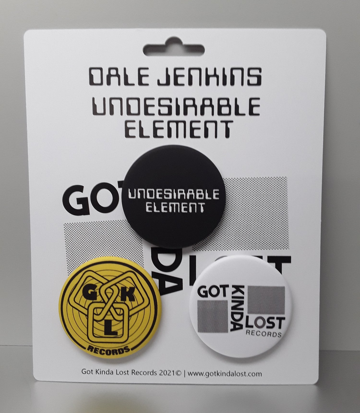 Image of [PRE-ORDER] DALE JENKINS - 'Undesirable Element' (GKL, 2021 - GKL009 / GKL009CD) ALL EDITIONS