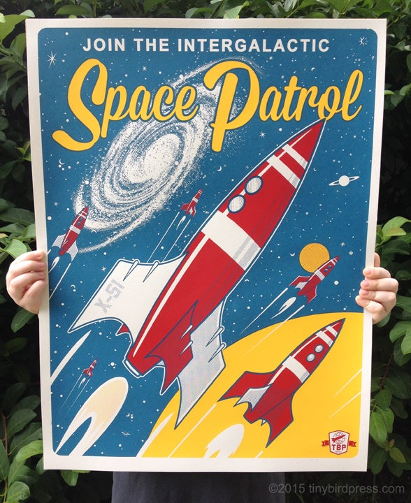 """""""Space Patrol"""" - Second Edition"""