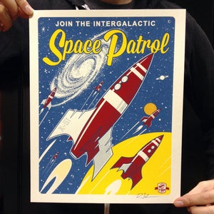 """""""Space Patrol"""" - Small Editions"""