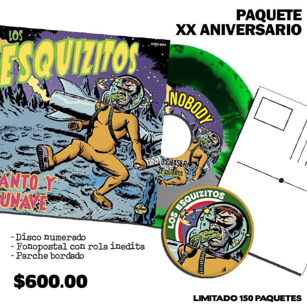 Image of SANTO Y LUNAVE - PAQUETE XX ANIVERSARIO
