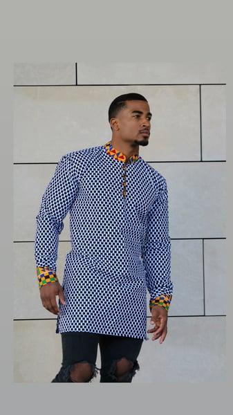 Image of The mawai shirt- Kente combo