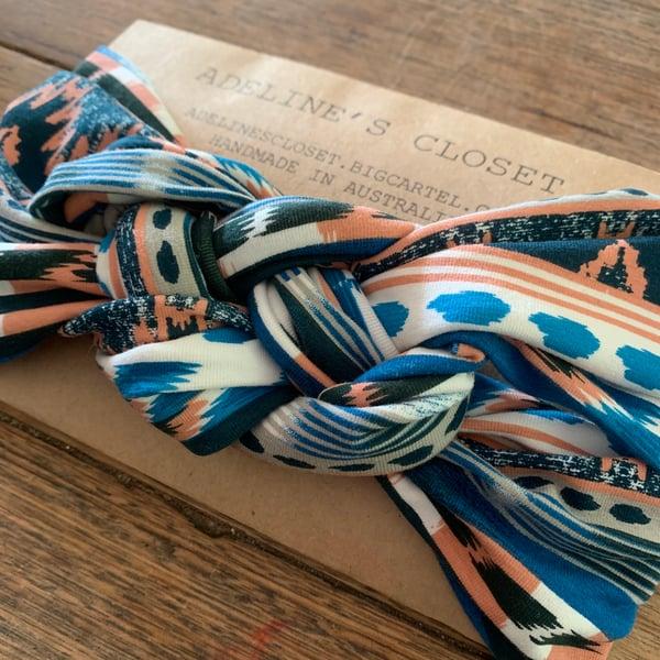 Image of Boho lines headwrap