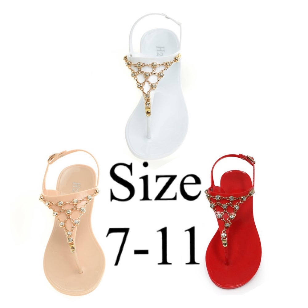 Image of #A1 Bling chain sandal