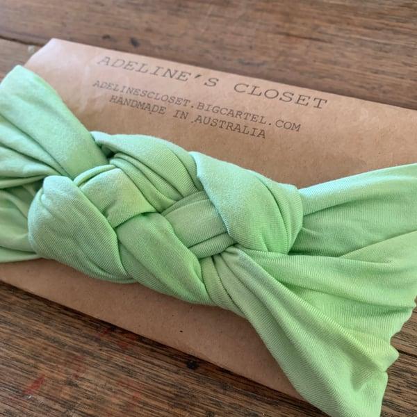 Image of Iime headwrap