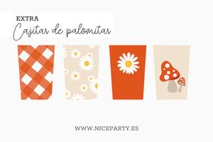 Image of Pack imprimible pic-nic setas y margaritas