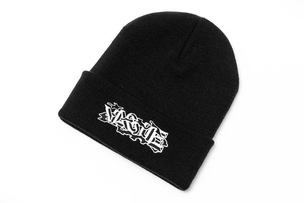 Image of Vague x DEFOMAYBE - Beanie - Black