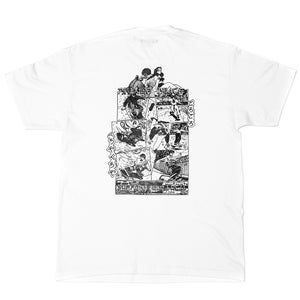 Image of Vague x Lizzie Heath - Greetings From Stockwell T-shirt in White