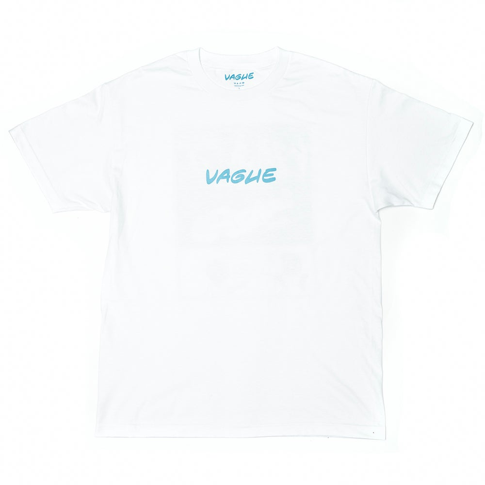 Image of Vague x Serious Adult - Skate Phrases T-shirt - White