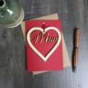 Mother's Day Card with Keepsake