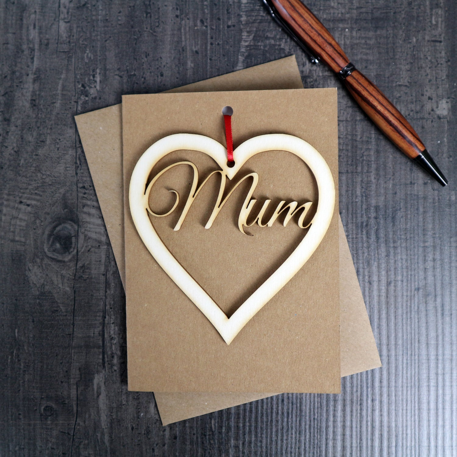 Image of Mother's Day Card with Keepsake