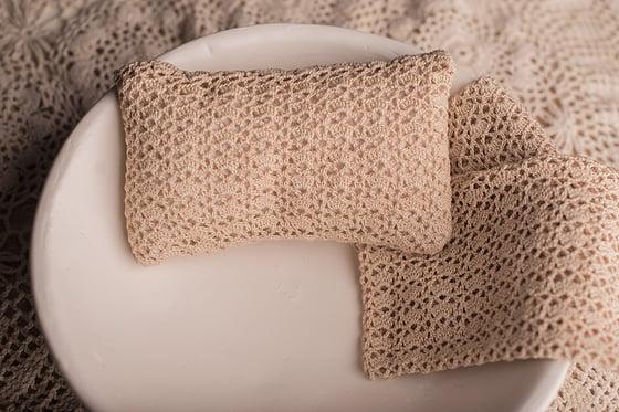 Image of KALINA - crochet pillow cover, pillowcase