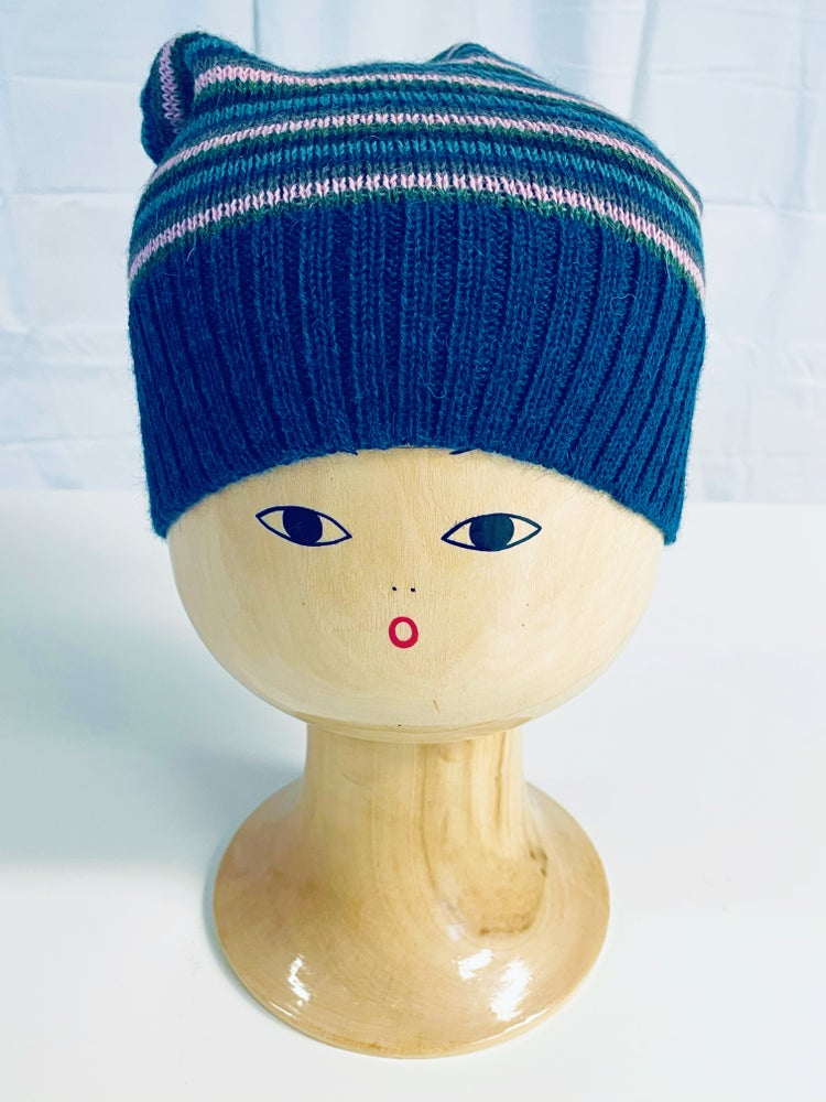 Image of Blue Hat Striped