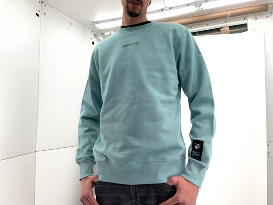 Image of Pelican Fly Crewneck Green