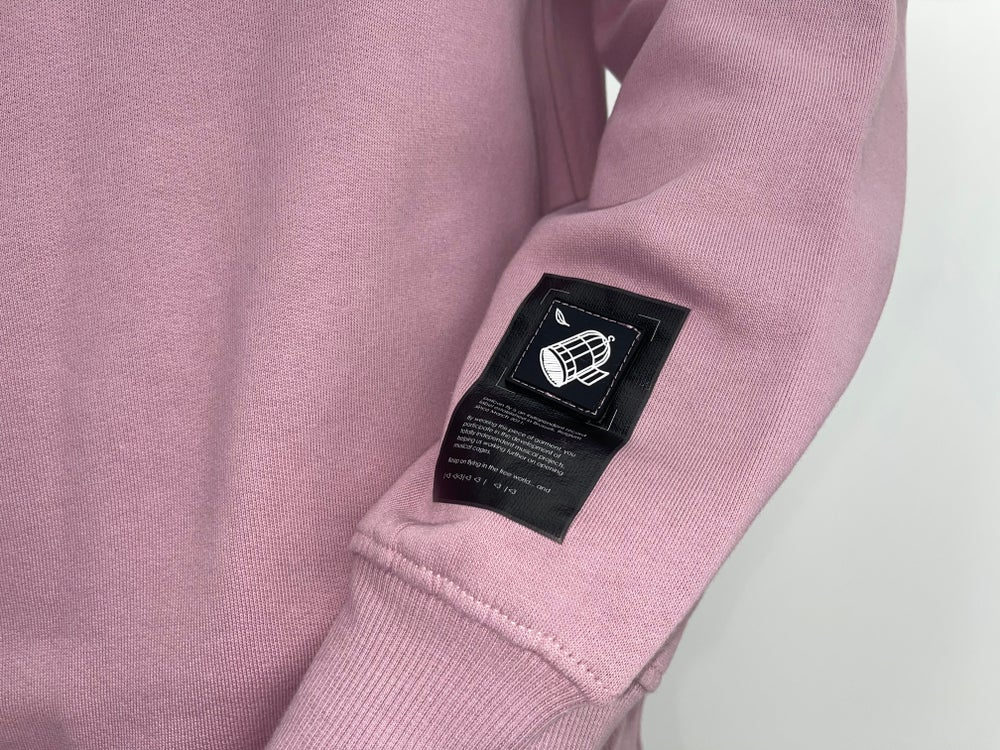 Image of Pelican Fly Crewneck Rose ok
