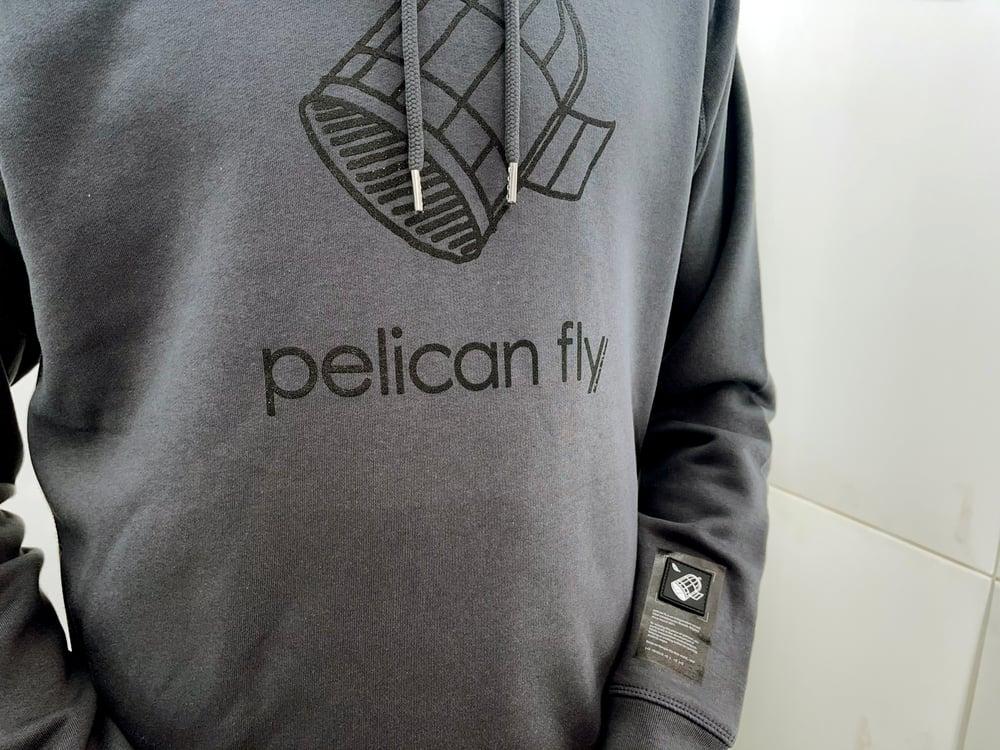 Image of Pelican Fly Hoodie (Cage Logo Black)