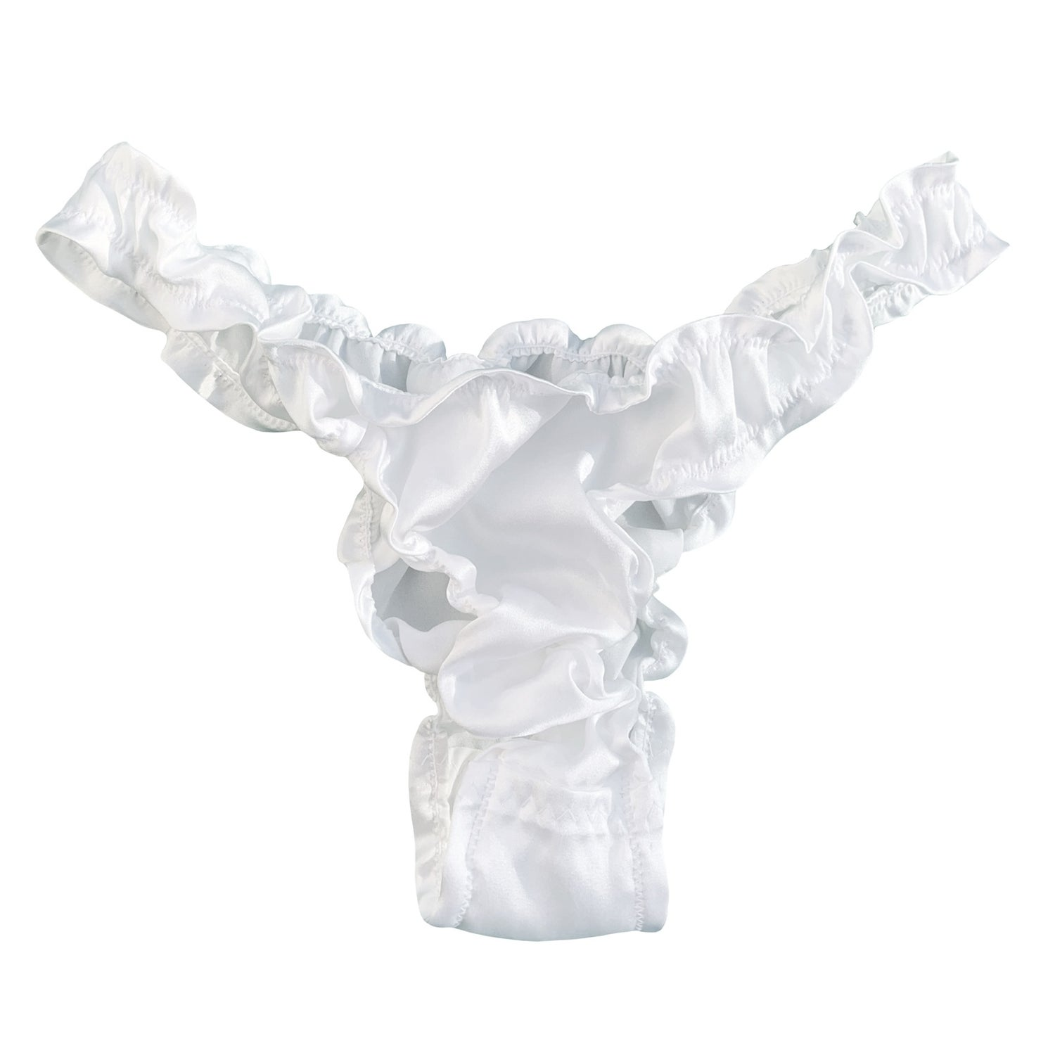 Image of 'Bianco' frilled undies