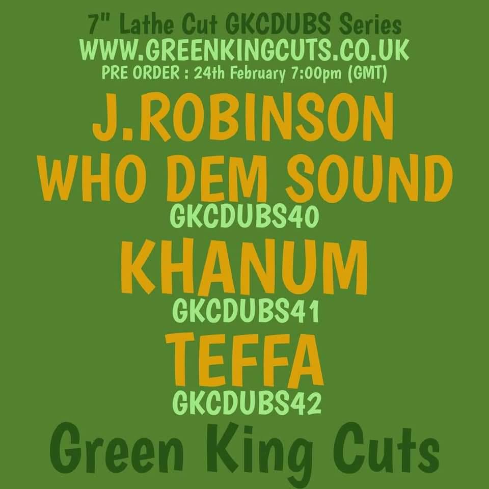 J.ROBINSON WHO DEM SOUND / GKCDUBS40