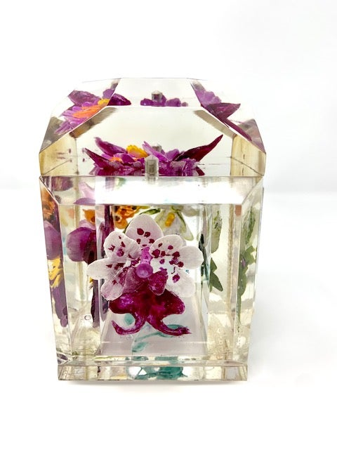 Image of Petite Painted Orchid Box