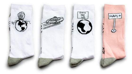 Image of Charles Williams Cosmic Giggles Socks (Full Collection)