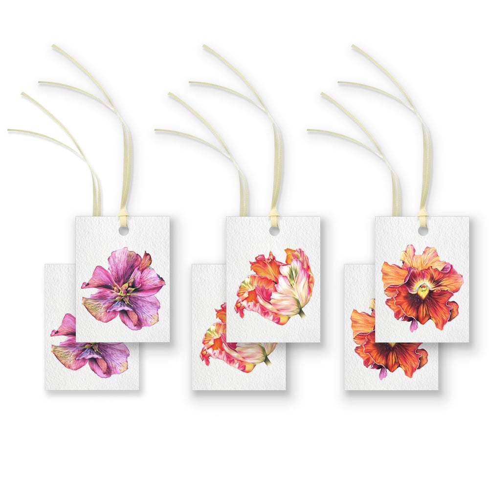 Image of Botanical Gift Tags - Set of 6