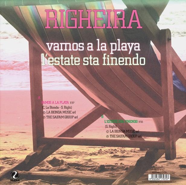 SAI10003 // RIGHEIRA - VAMOS A LA PLAYA / L'ESTATE STA FINENDO