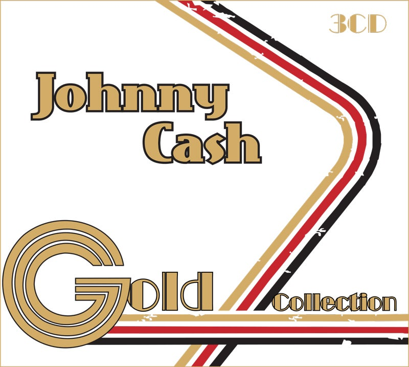 MMB1017-2 // JOHNNY CASH - GOLD COLLECTION (3CD)