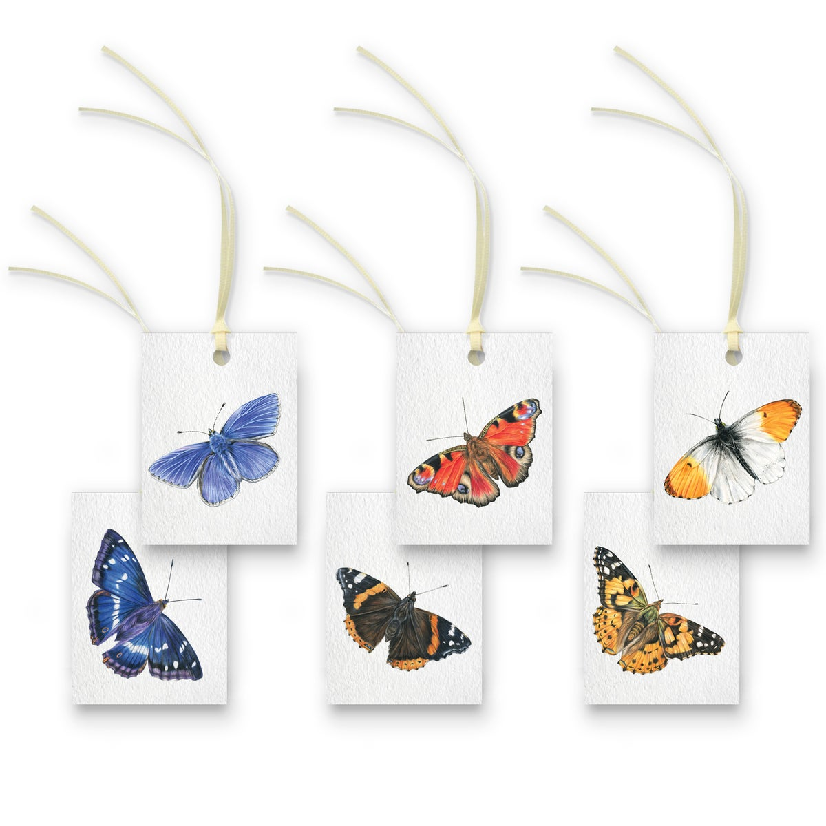 Image of Butterflies Gift Tags - Set of 6