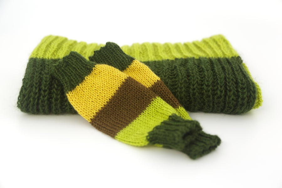 Image of Howard Scarf and Mitts