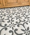 Large Seville Floor Stencil - Moroccan Stencil - DIY Floor Projects/Repeating Stencil