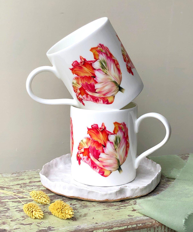 Image of Apricot Tulip - Mug