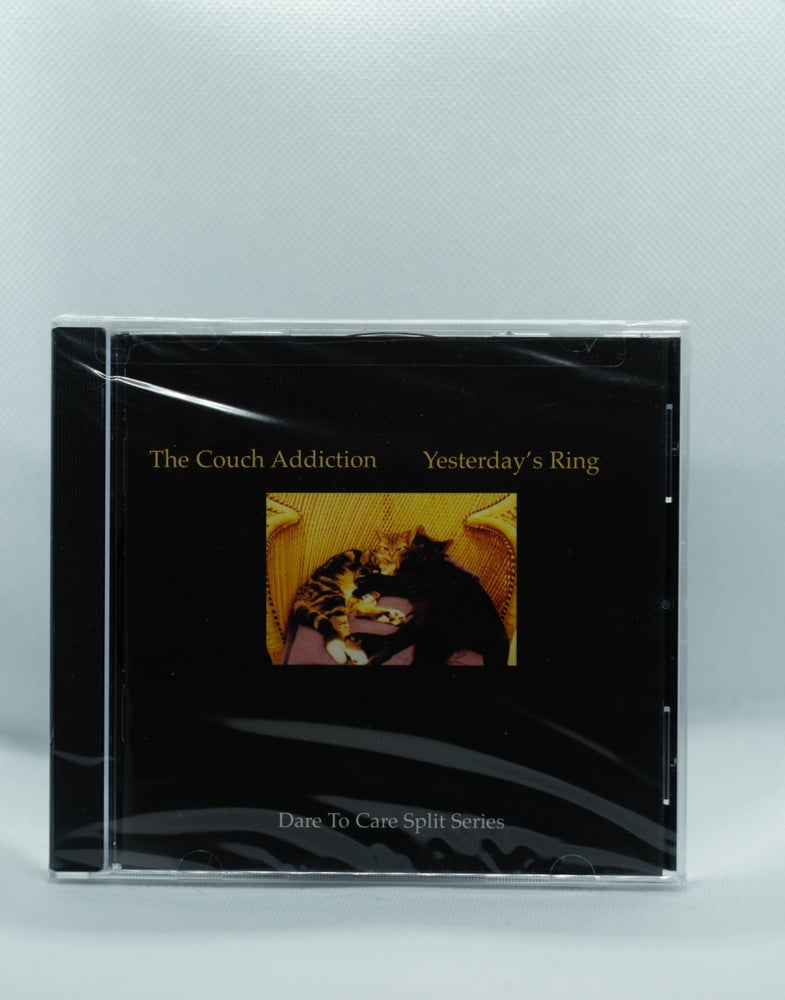 Image de Yesterday's Ring - split with Couch Addiction CD
