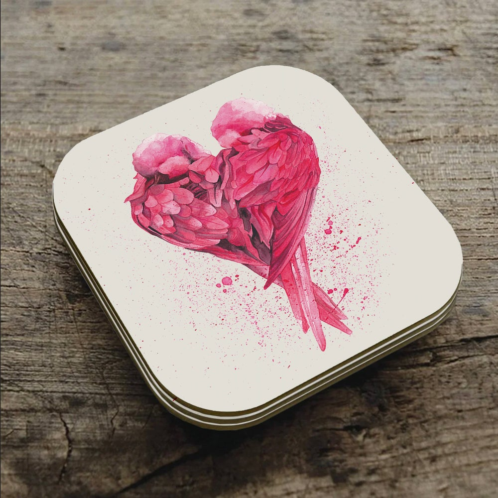 Image of Love Birds - Coaster