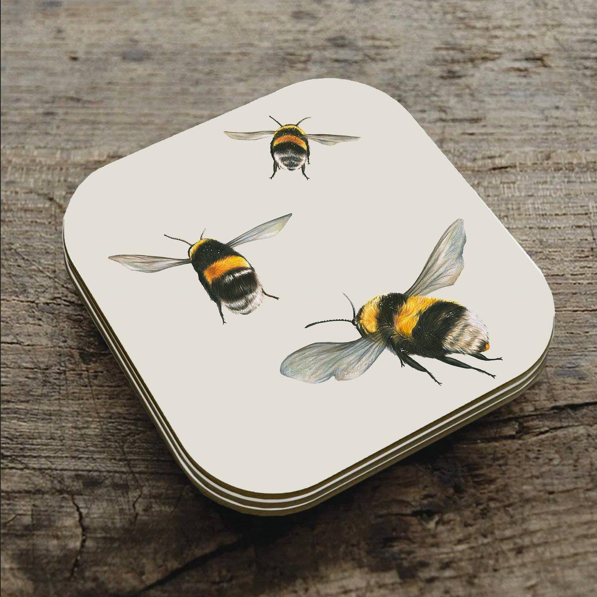 Image of 'Bumblebee' Coaster