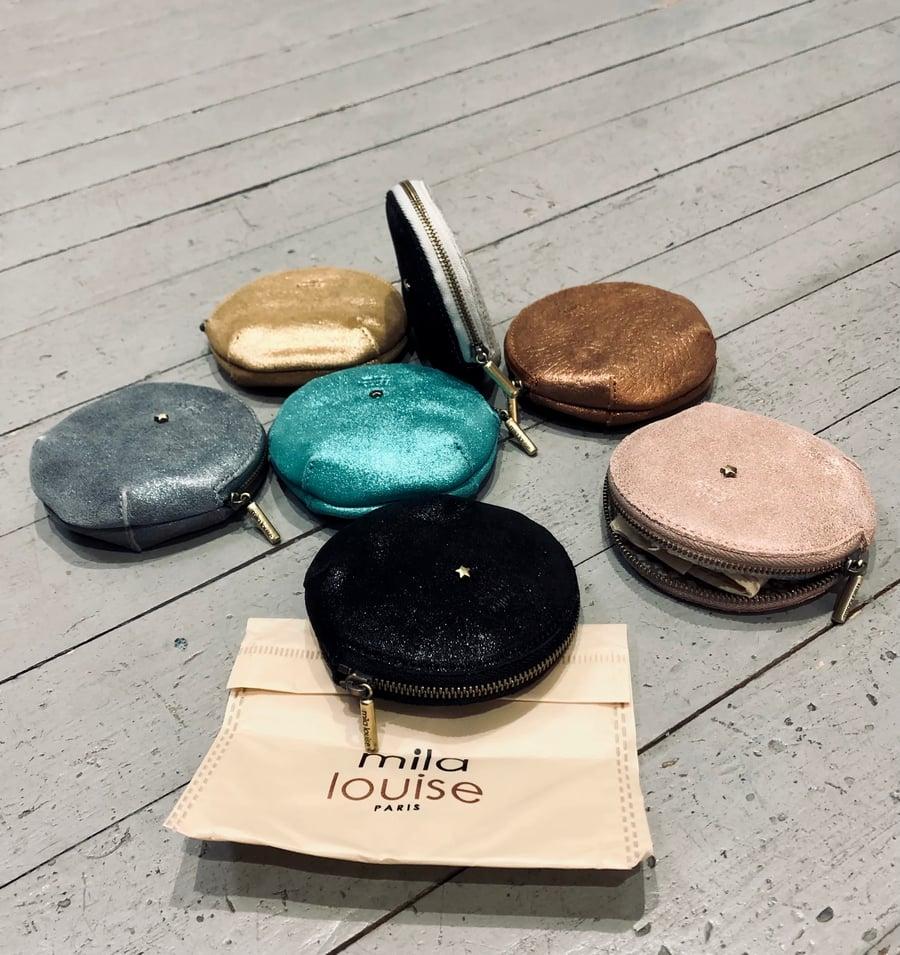 Image of Porte monnaie rond irisé (7 couleurs )