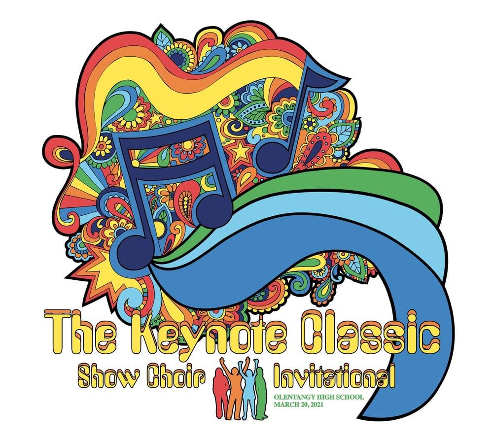 Image of The Keynote Classic Show Choir Invitational 2021 Hooded Sweatshirt