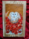 Love is in the Air: Original Painting on Wood