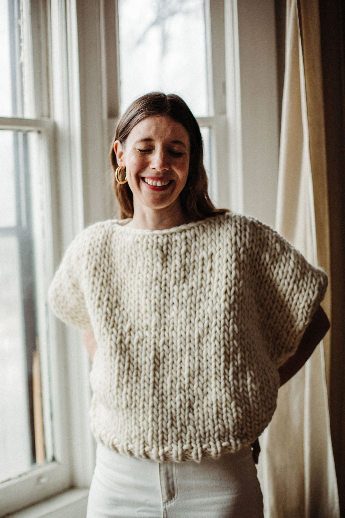 Image of Knitting Pattern - Welland Sweater