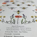 Image 5 of Bees and Botanicals - silk screen print