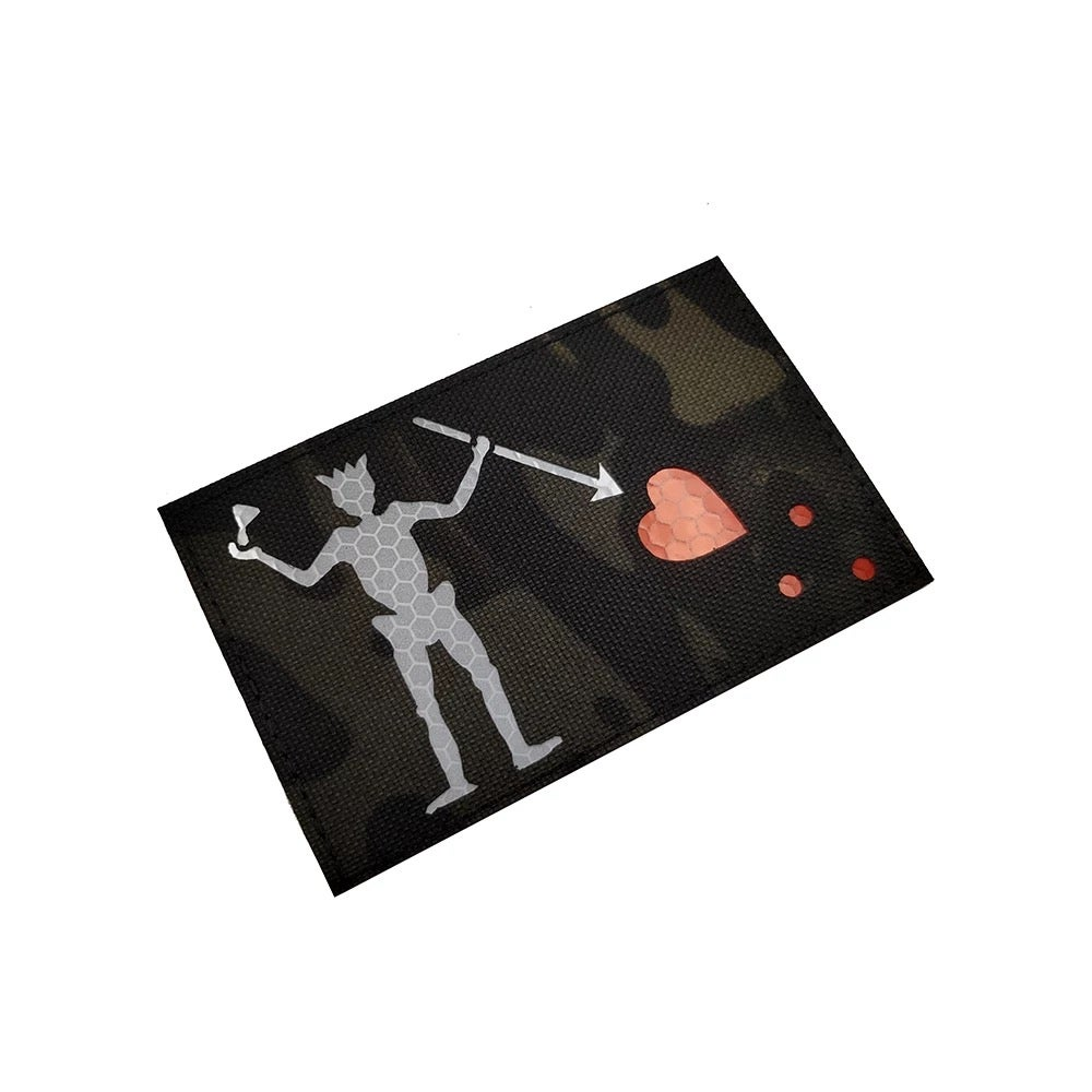 "Image of Limited Edition Edward Teach "" Blackbeard� Velcro Patch"