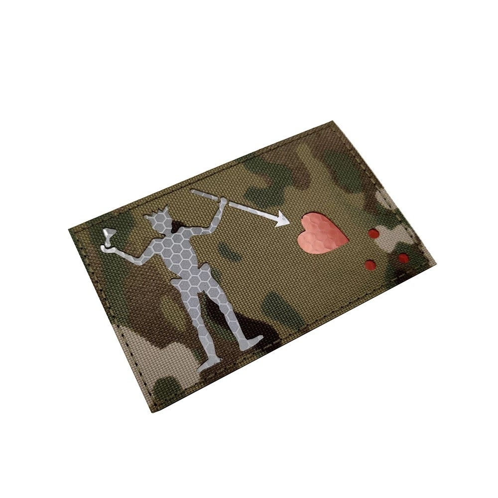 "Image of Limited Edition Edward Teach "" Blackbeard"" Velcro Patch"