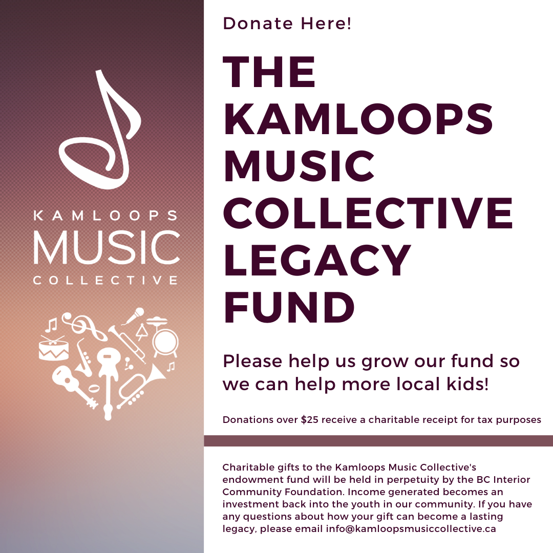 Image of Kamloops Music Collective Legacy Fund - 2021 Campaign