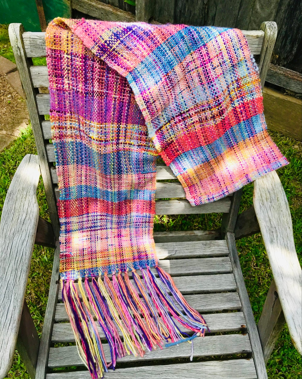 Image of Little Ray of Sunshine Woven Scarf