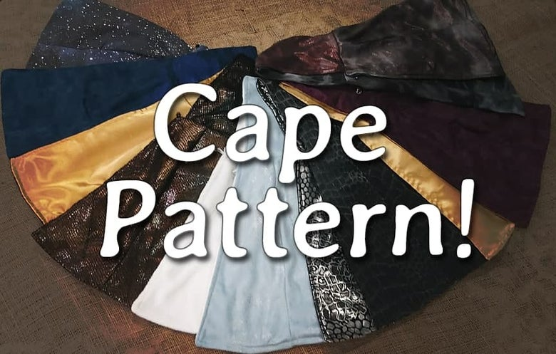 Image of Homemade Horror Cape Pattern