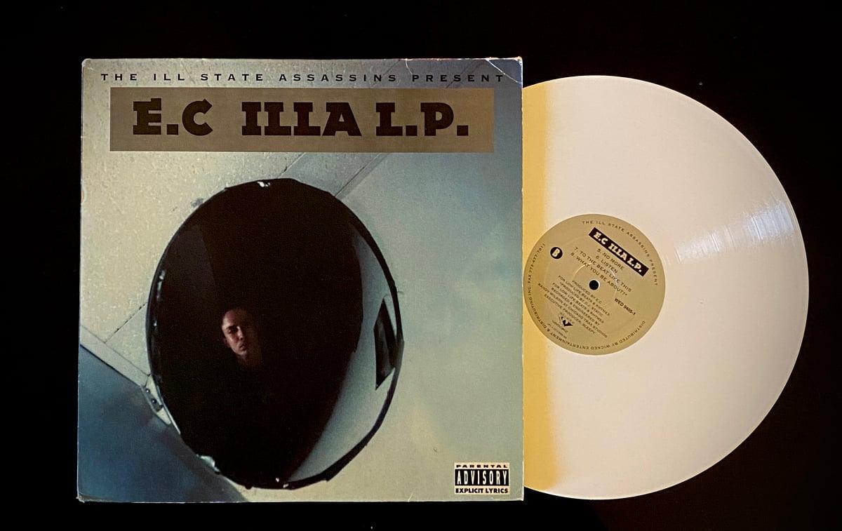 "Image of EC ILLA ""ILLA LP"" 2xlp (white vinyl)"
