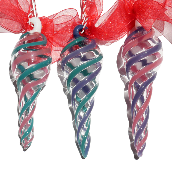 Image of 3 Pastel Ornaments